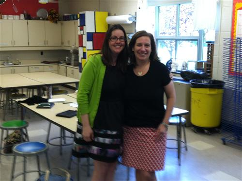 Mrs. Braun & Mrs. McQuate