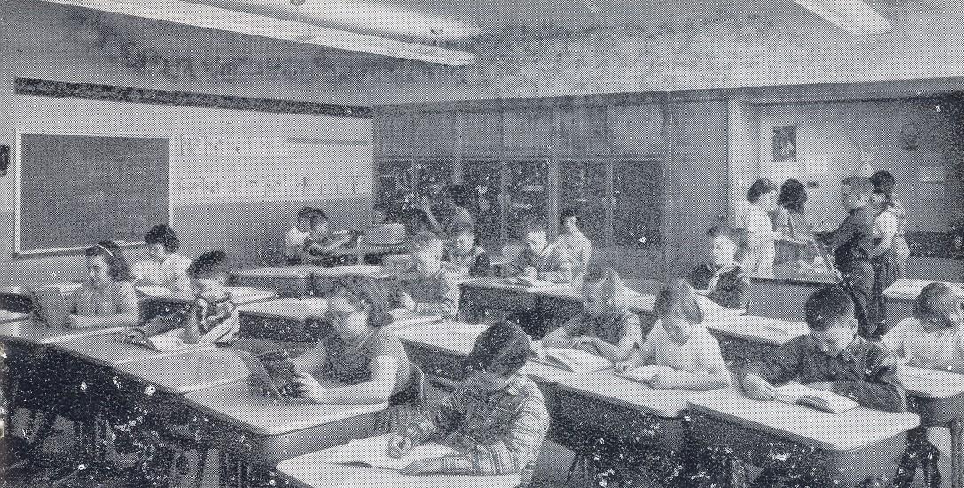 Grade 4 class